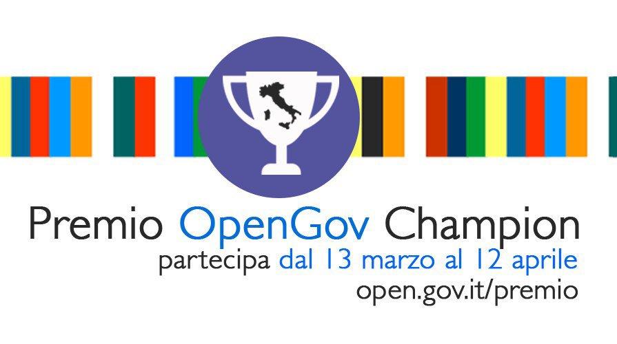 Cerchiamo Open Gov Champion