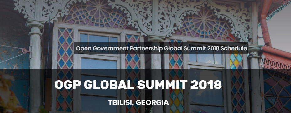 L'Italia all'OGP Summit di Tbilisi del 19 e 20 luglio 2018