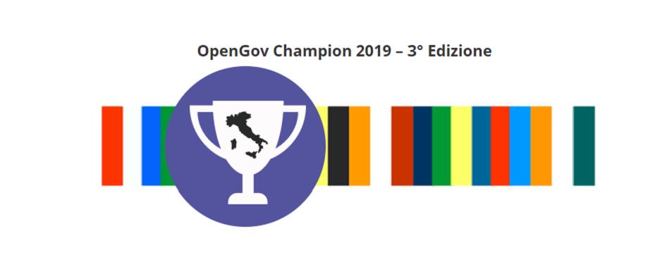 La 3° edizione del Premio Opengov Champion