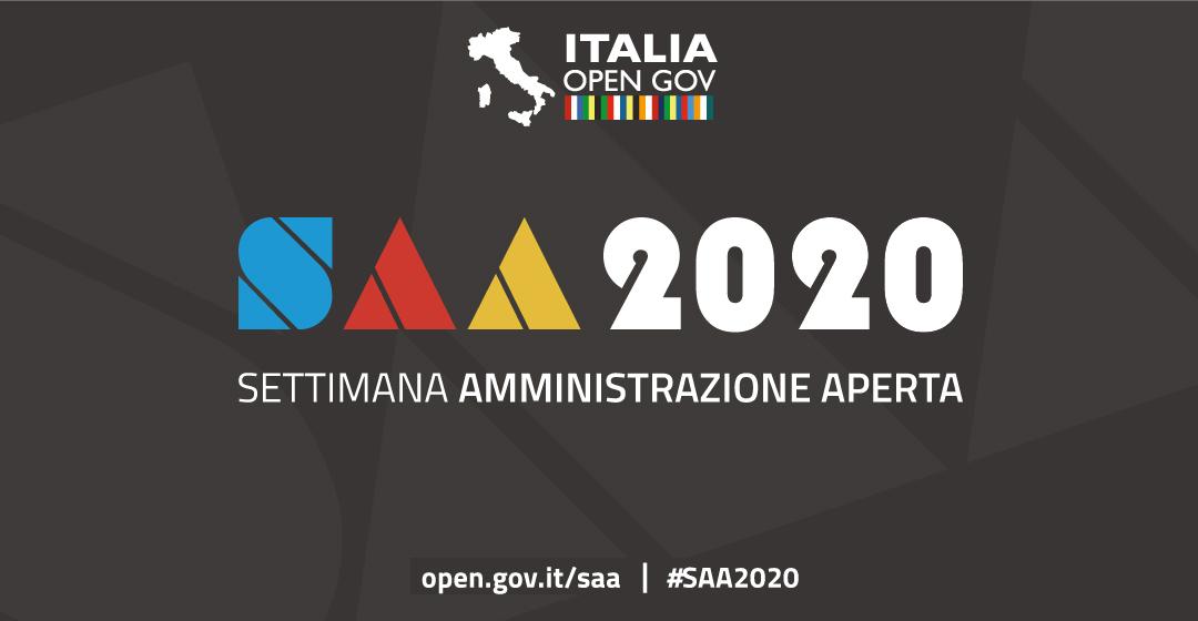 Rinvio Settimana dell'Amministrazione Aperta 2020 ed eventi confermati