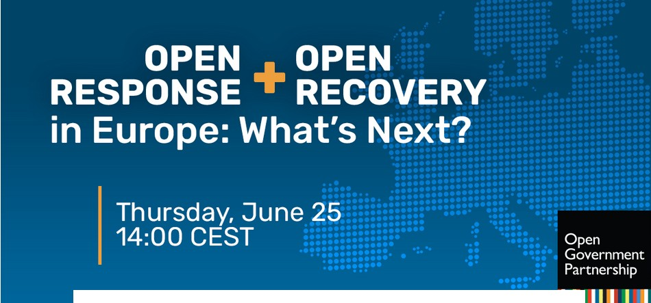 Incontro online 25/06: Open Response + Open Recovery in Europa