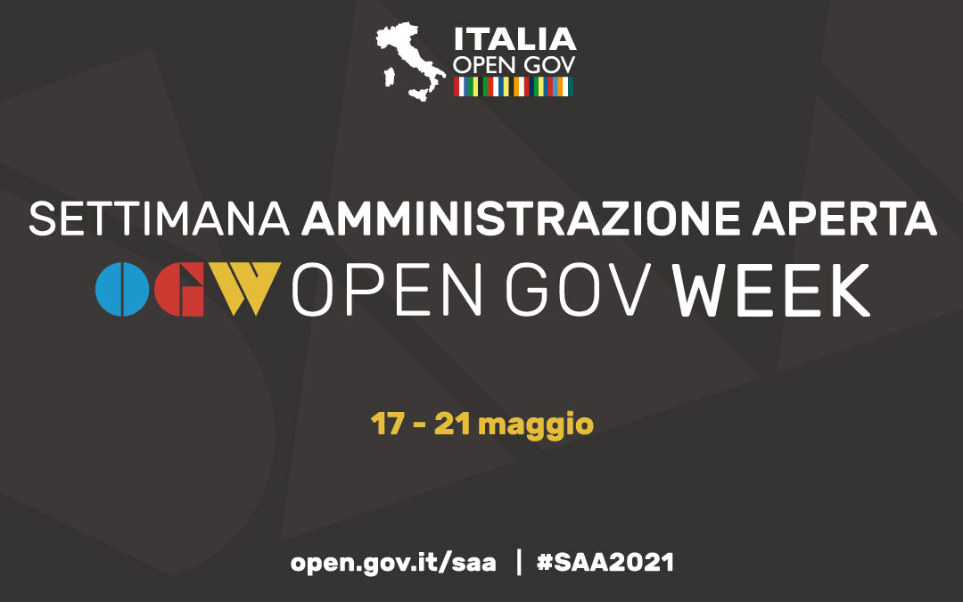 OpenGov Week/Settimana dell'Amministrazione Aperta: dal 17 al 21 maggio a livello mondiale