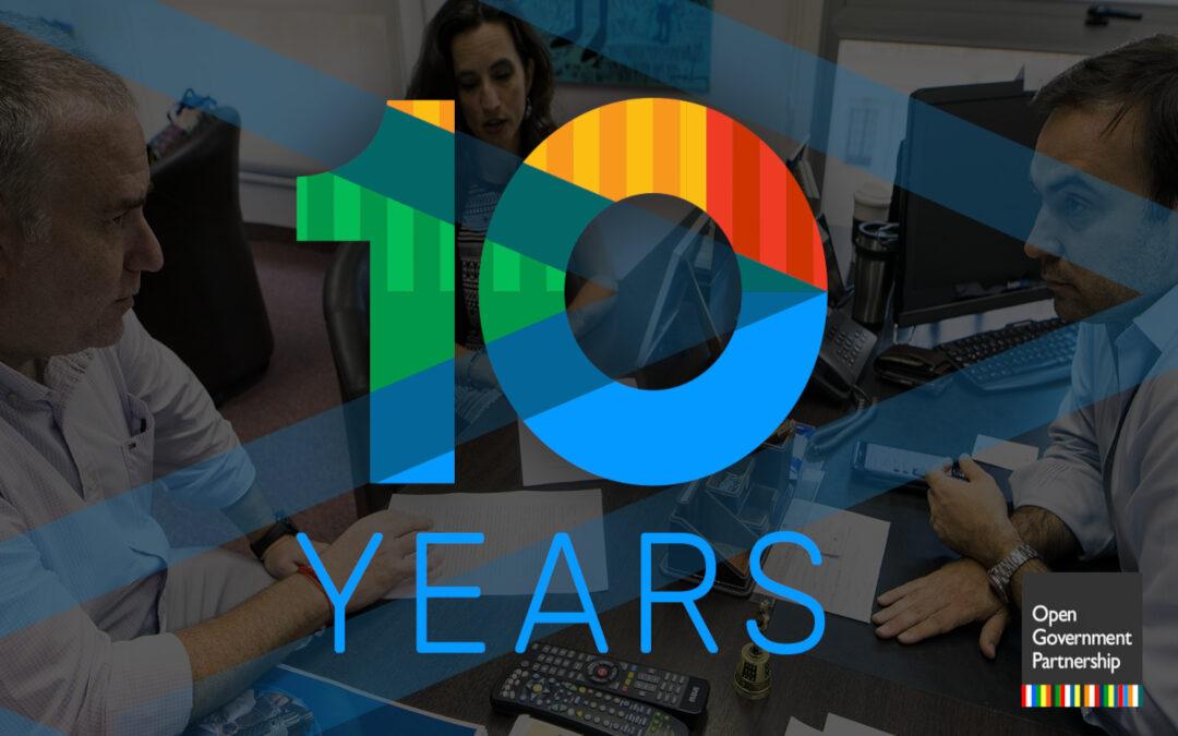 10 anni di Open Government Partnership