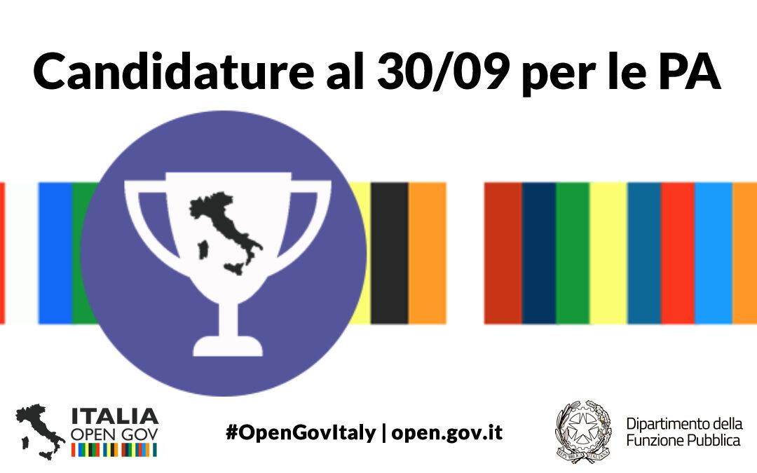 Premio OpenGov Champion 2021 per le Amministrazioni Pubbliche: più tempo per partecipare