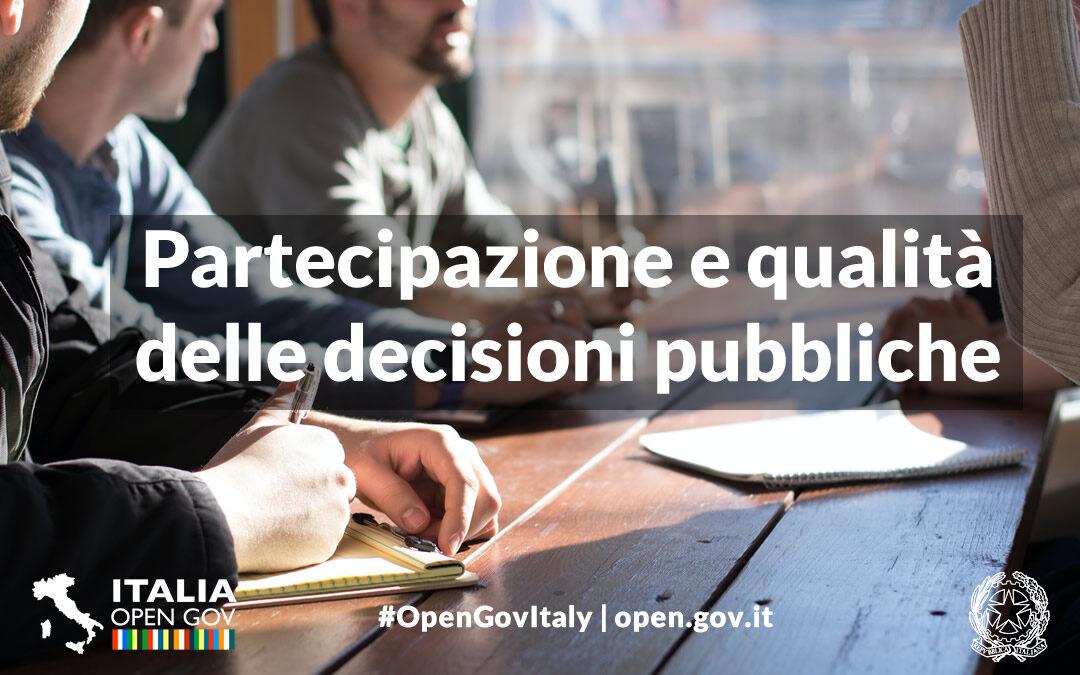 La collaborazione tra cittadini e amministrazioni al centro del webinar del 07/10